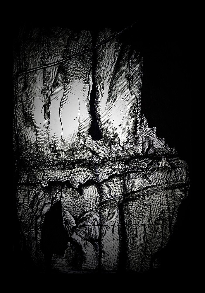 A Mysterious Cave. by Erin Quinn