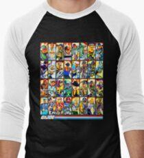 G.I. Joe in the 80s! (Version B) Men's Baseball ¾ T-Shirt