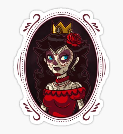 Dia de la Princesa Sticker
