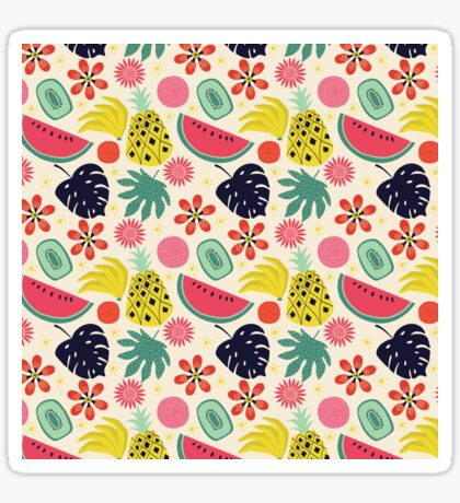 Tropicana Fruits Sticker
