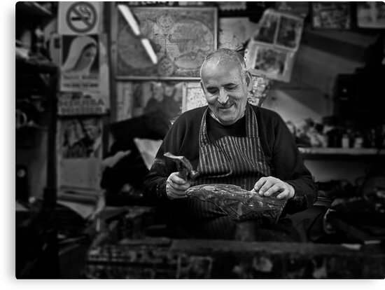 Freddie -- The Cobbler Rabat Malta by Edwin  Catania