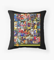 G.I. Joe in the 80s!  Cobra Edition! (Version B) Throw Pillow