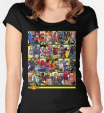 G.I. Joe in the 80s!  Cobra Edition! (Version B) Women's Fitted Scoop T-Shirt