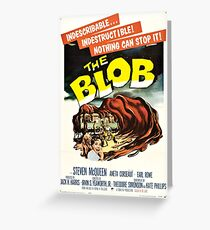 The Blob Vintage Movie Greeting Card