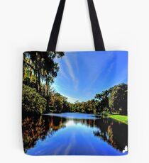 Beautiful Pond Tote Bag