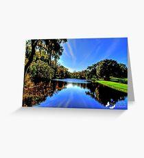 Beautiful Pond Greeting Card