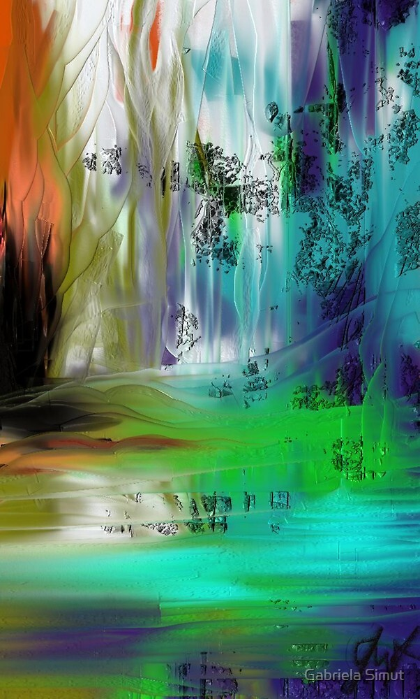 illusory landscape by Gabriela Simut