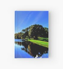Beautiful Pond Hardcover Journal