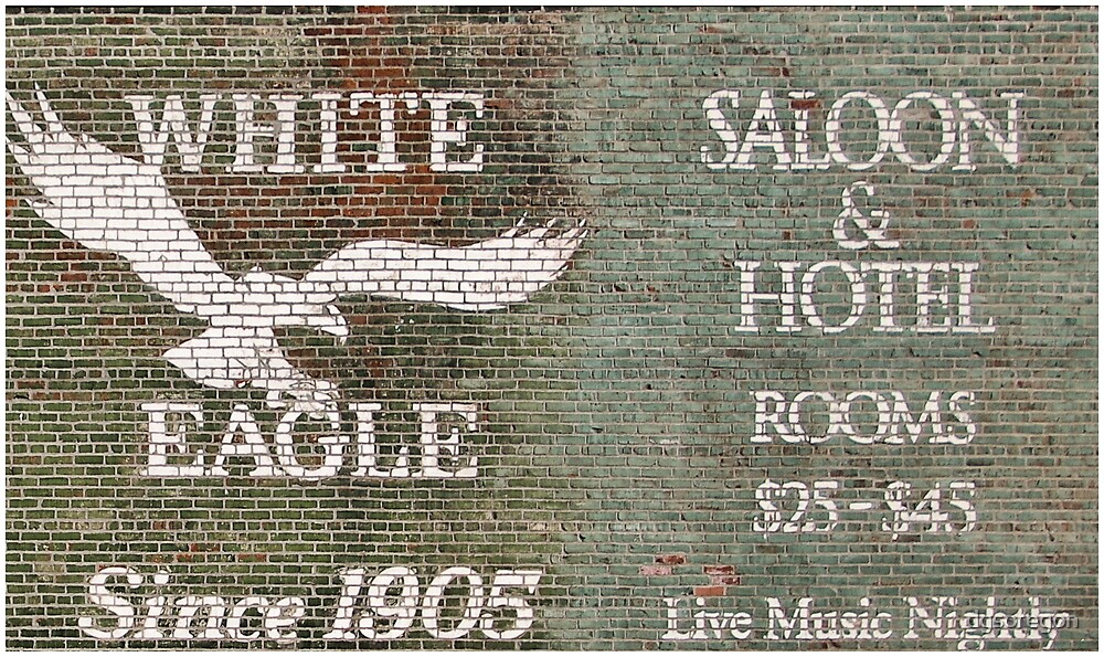 The White Eagle Saloon & Hotel  by Donald Siebel