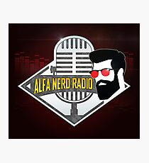 Alfa Nerd Radio Photographic Print