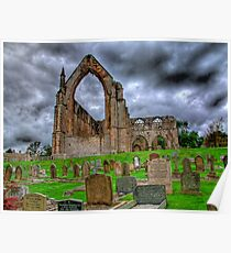 Bolton Abbey The Ruins - HDR Poster