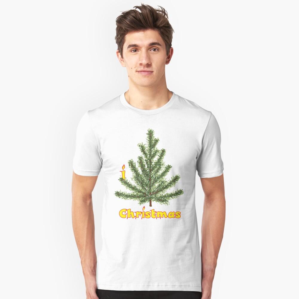 I LOVE CHRISTMAS T-shirt Unisex T-Shirt Front