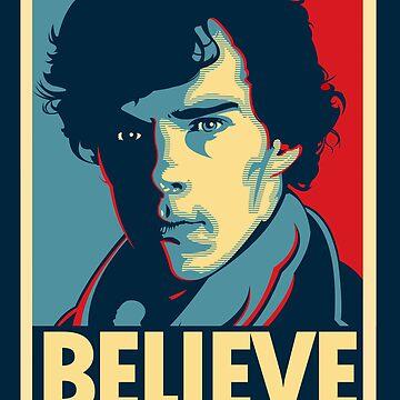 Believe in Sherlock Holmes by TomTrager