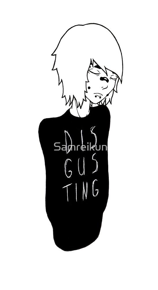 Disgusting by Samreikun