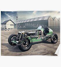 E.R.A. Cutaway Illustration - Brooklands Poster