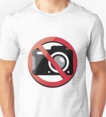 no photographs Unisex T-Shirt