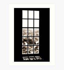 Window of lonliness Art Print