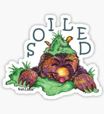 Soiled shirt (Drawn) Sticker