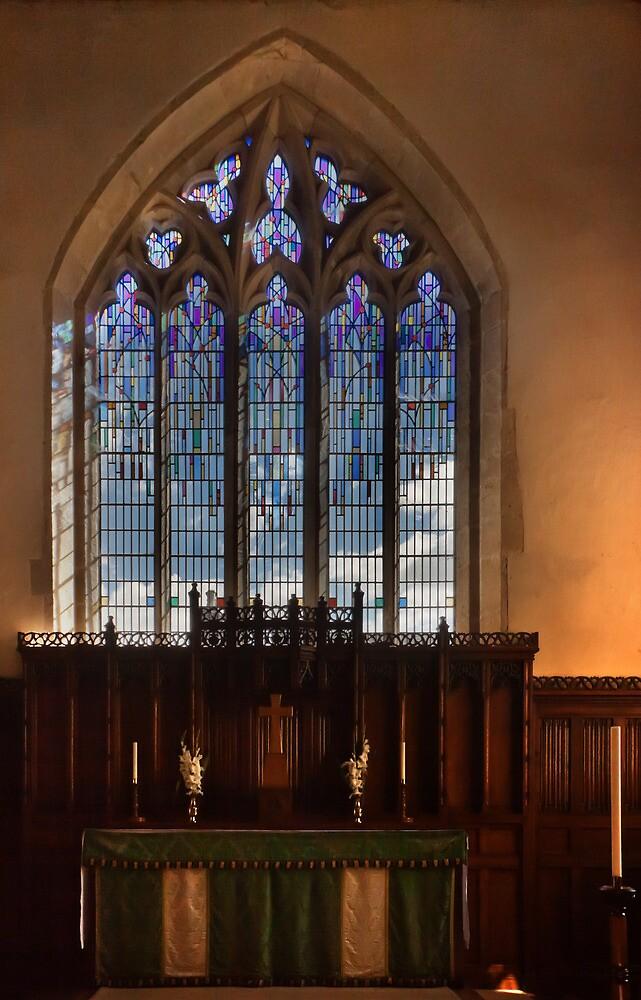 Pickering church window by jasminewang