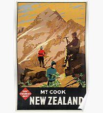 Vintage poster - New Zealand Poster