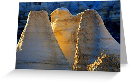 Ghosts Of The Bisti/De-Na-Zin Wilderness by Bob Christopher