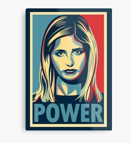 Power Metal Print