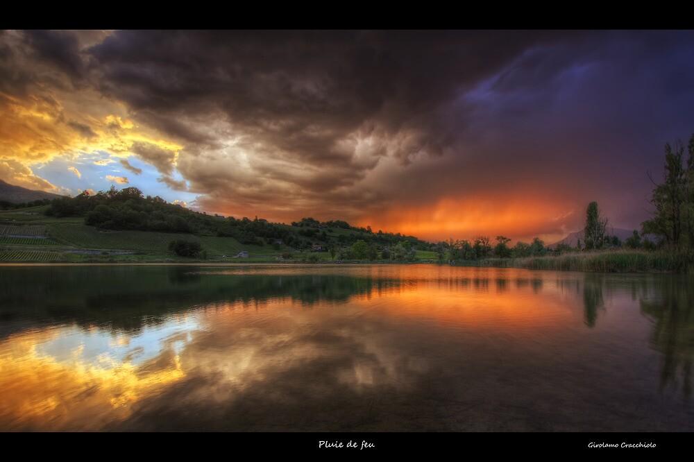 Pluie de feu by Girolamo Cracchiolo