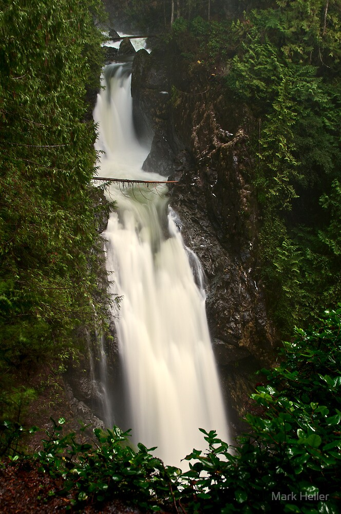 Upper Wallace Falls - Wallace Falls State Park, WA by Mark Heller