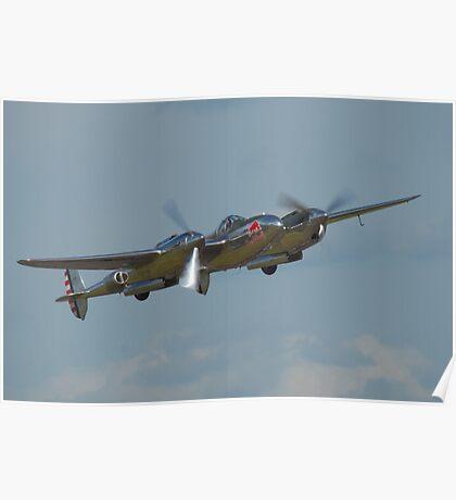 P-38Lighting Poster
