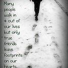 Footprints  by kirstea1990