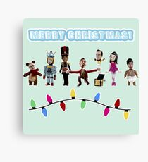Stop Motion Christmas - Style H Canvas Print