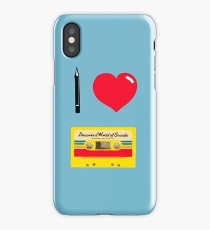 Tapencil love iPhone Case