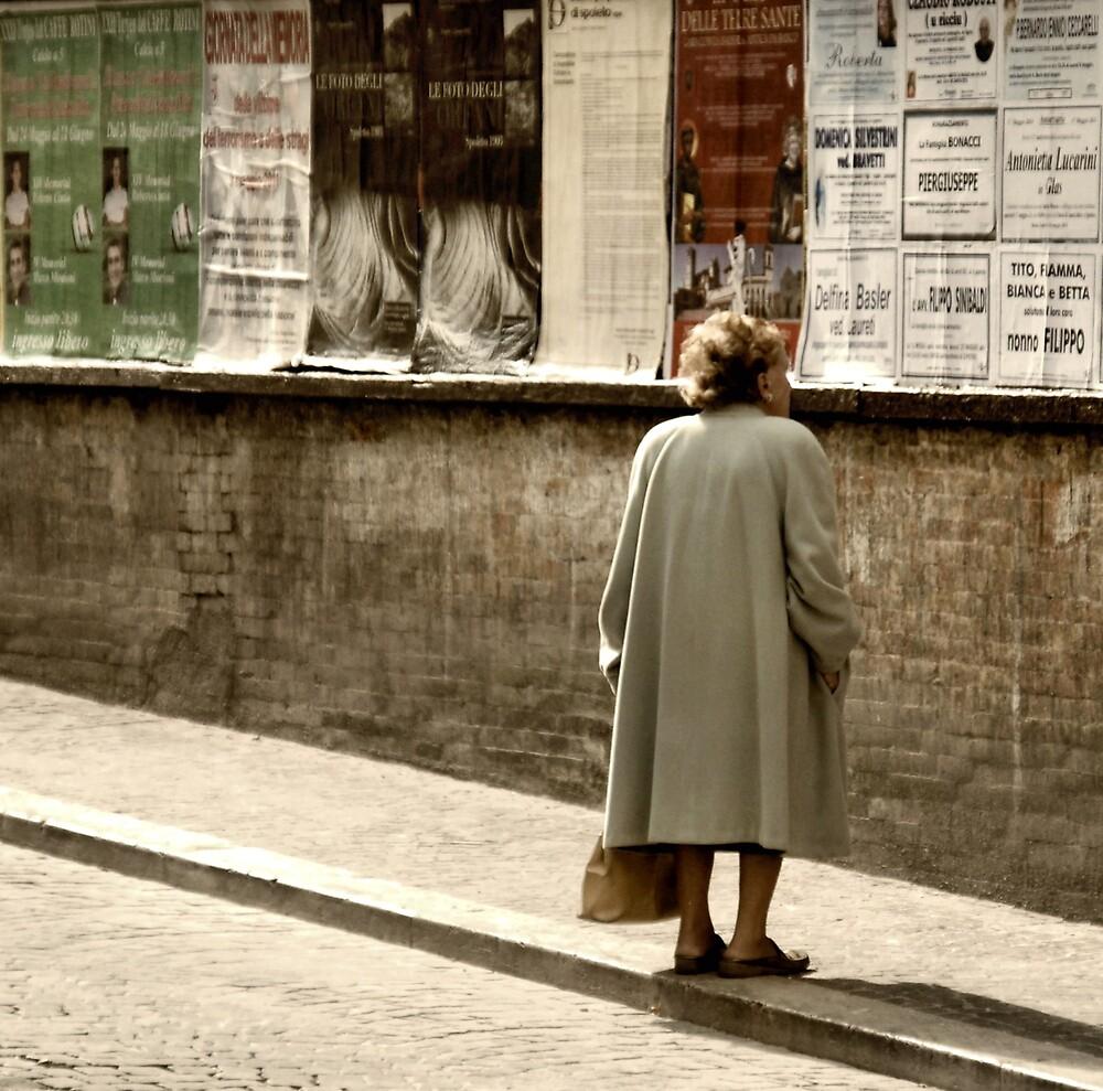 Little Woman-Spoleto, Italy by Deborah Downes