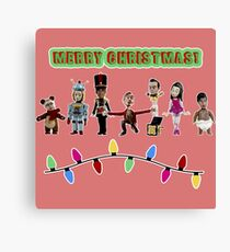 Stop Motion Christmas - Style F Canvas Print