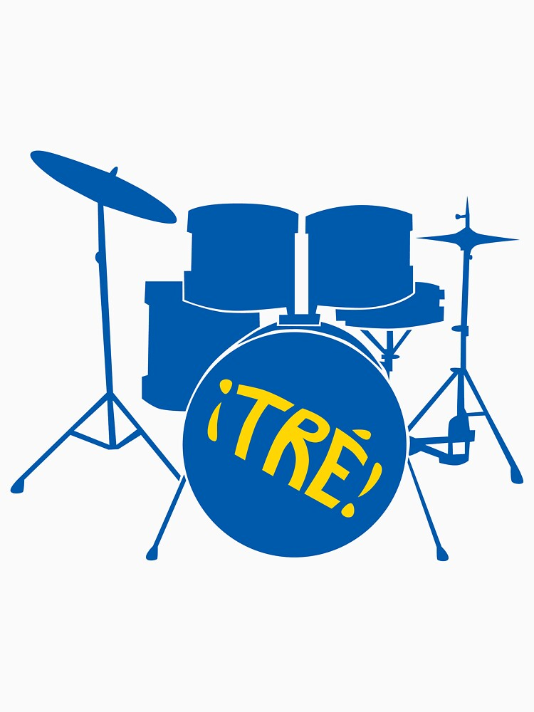 ¡TRE! Drum Design by smellofthemonth