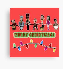 Stop Motion Christmas - Style G Canvas Print