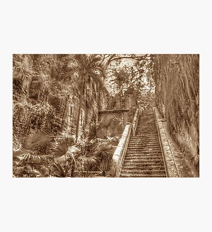 Queen's Staircase in Nassau, The Bahamas Photographic Print