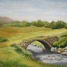 Bridge in Donegal by Geraldine M Leahy