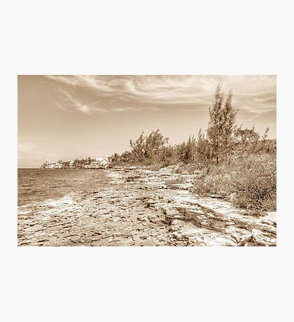 Eastern Side of Nassau, The Bahamas Photographic Print