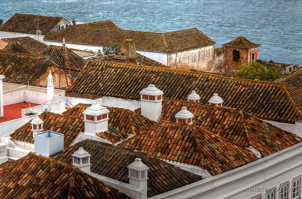 The Chimney Pots Of Faro by manateevoyager