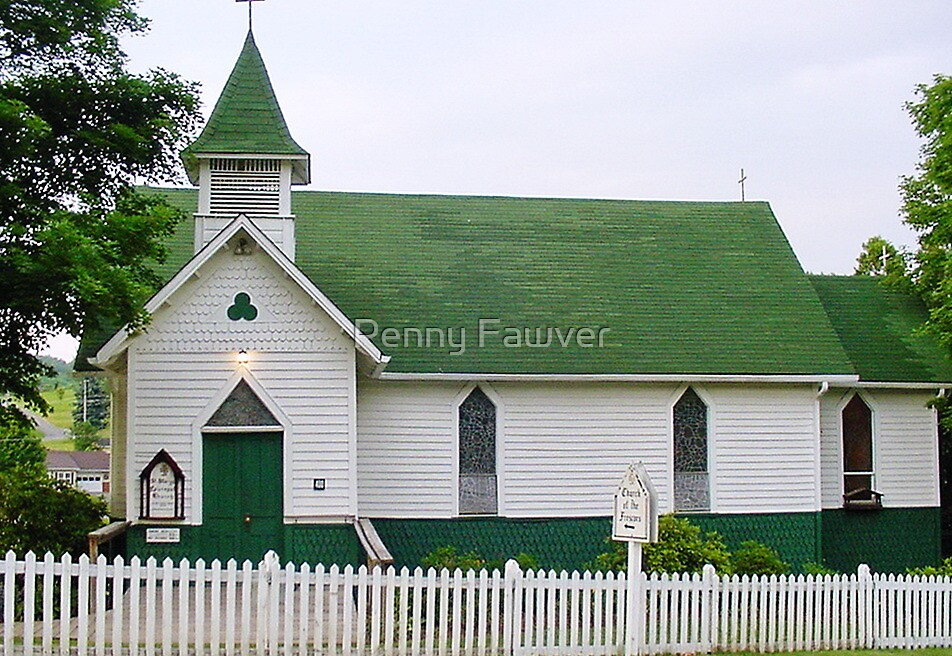country church by Penny Fawver