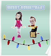 Stop Motion Christmas - Jeff/Annie (Style C) Poster