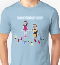 Stop Motion Christmas - Jeff/Annie (Style C) Unisex T-Shirt