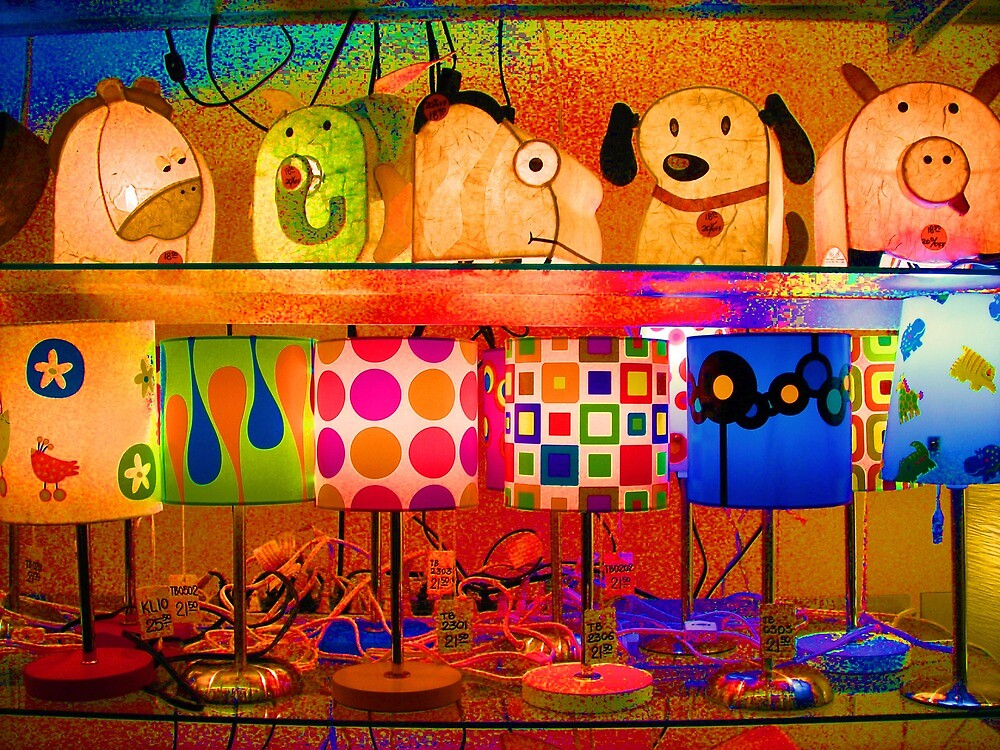 Psychedelic Lamps by podspics