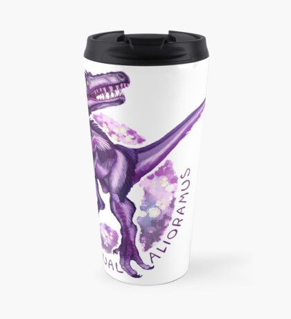 Asexual Alioramus (with text)  Travel Mug