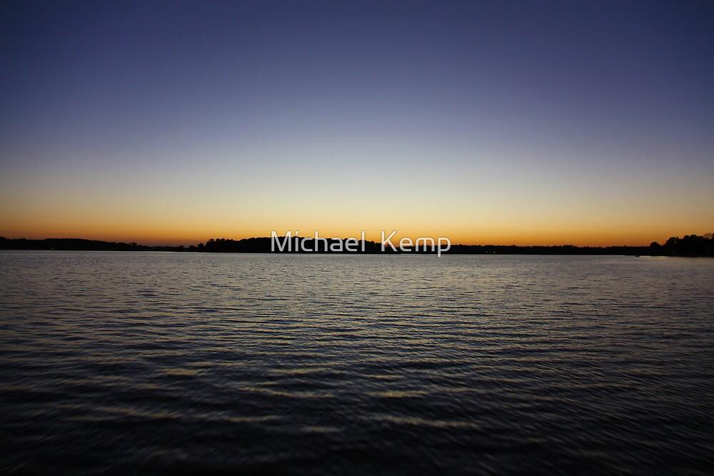 Sunset on a Lake by Michael  Kemp