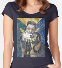 Dorian Pavus Romance Tarot Women's Fitted Scoop T-Shirt