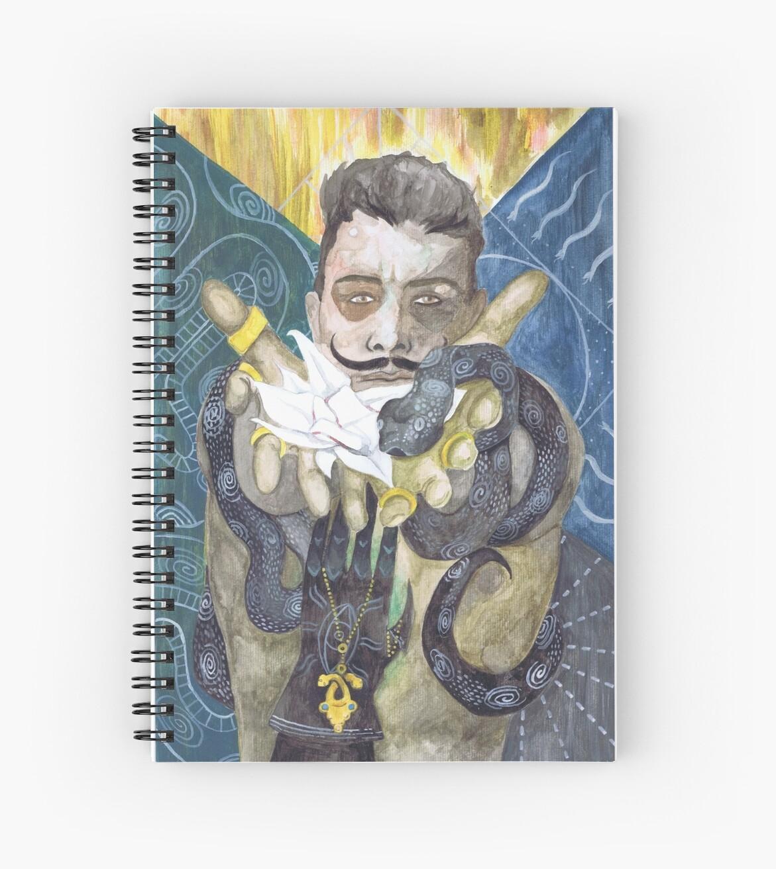 Quot Dorian Pavus Romance Tarot Quot Spiral Notebooks By Nyodo