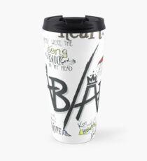 Fall Out Boy Lyric Art Travel Mug