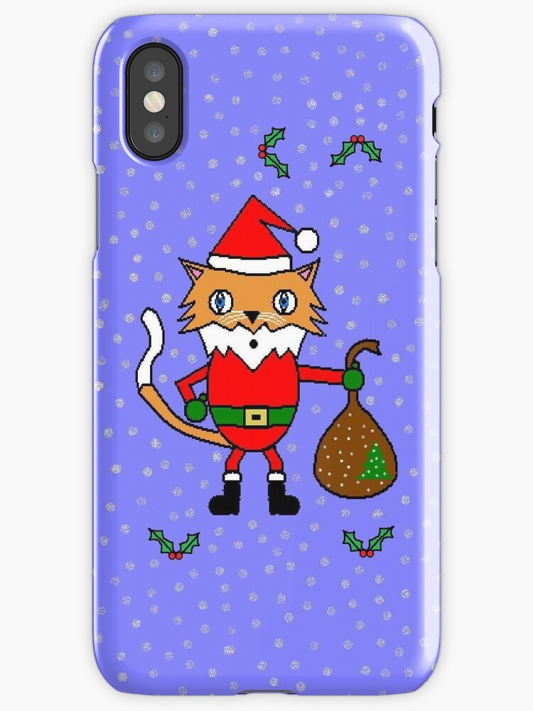 Santa Claws - The Christmas Cat by changacraft